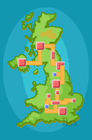 United Kingdom Pokemon Region by ForestIlex