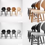 Retro Modern Chair J67 [3D] by Patan77xD