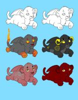 Demon Cubs 5pts OPEN by Leland-Adopts