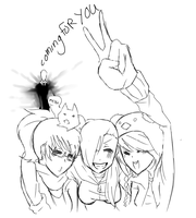 Me And The Gurls ! by sonxfanchara