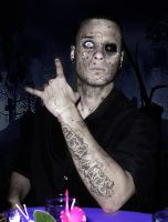 Zombie 'Costa Matos' by vicariousmonster