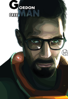 Vector: Gordon freeMAN by Py-Bun