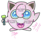 POKeMON GEN 1 - JIGGLYPUFF #39 by Fantasy-Fashionista