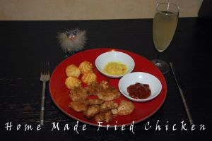 Home-made Fried Chicken by WhatsToEast