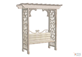 Arbor bench by LuxXeon by Tiffli