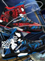 Spider-Man Kids Sneakers by APetrie74