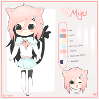 .Myu Reference. by Jucii-chan