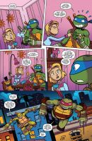 TMNT Amazing Adventures: No Phones at the Table by NinjaTurtleFangirl