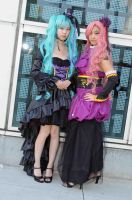 Miku and Luka - Vocaloid 2: 2 by popecerebus