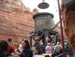 Cars Land - The water tower of Radiator Springs by Magic-Kristina-KW