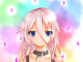 IA-vocaloid (short hair) by IMIKUY