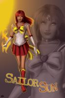 Commission p1 - Sailor Sun by DianaHold