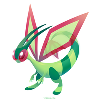 PKMN - Flygon by Versiris
