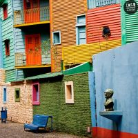 Calle Caminito by deepkitsch