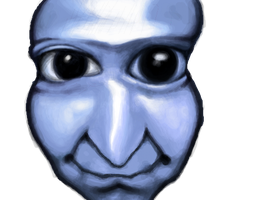 ao oni by EmptyCrate