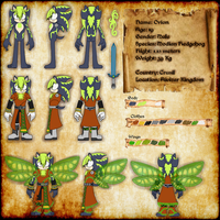 Orion Refference sheet by OrionTHedgehog