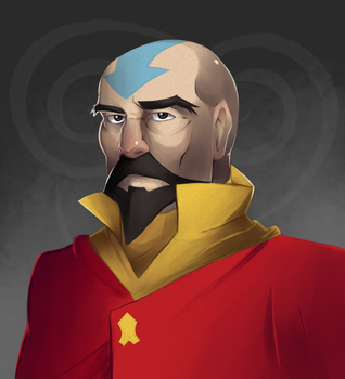Tenzin the Airbending Master by piplupiloveyou