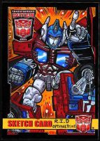 BotCon Robots In Disguise Optimus Prime by fbwash