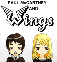 Paul McCartney and Wings by JackHammer86