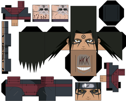 Hashirama sage mode anime by hollowkingking