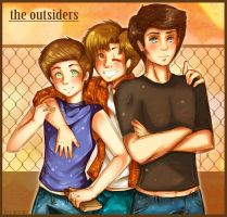 The Outsiders - Brothers by Demachic