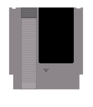 Nes Cartridge Vector by The-Desert-Tiger