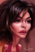 Audrey Tautou by creaturedesign