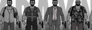 Max Payne 3 Evolution by ElOctopodo