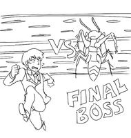 Mob Psycho 100 - 60 min - Fighting game omake by Hikapi
