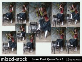 Steam Punk Queen Pack 2 by mizzd-stock