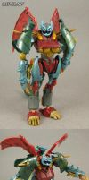 Transformers Beast Hunters custom Ripclaw by Jin-Saotome