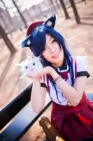 LoL - Gwiyomi / Ahri by TrustOurWorldNow