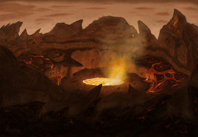 Ruins of the Purging Earth by Marcelo-C-C-Filho