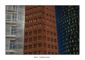 Berlin - Potsdamer platz by Stephane-Burlot