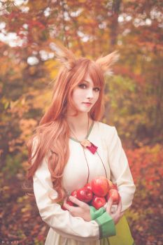 More apples please! - Spice and Wolf (2) by kazeplay