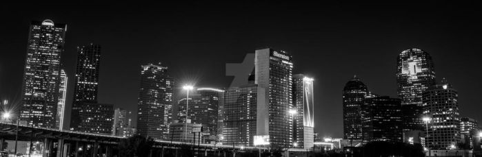 Downtown Dallas Panorama by DunsparceryKai