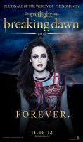 Breaking Dawn part 2 - poster - Bella Cullen by codeevanescence