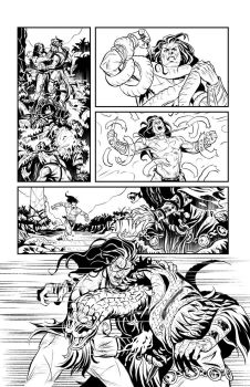 Pathfinder Tarzan one shot p6 by GIO2286