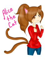 *Alice the cat* by BEN-Drowned-yshdt