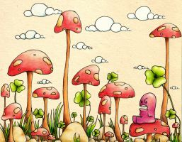 shrooms by ezcurra