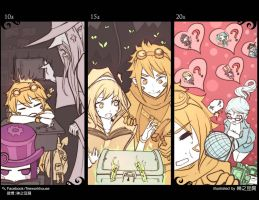 [LOL] growing up - EZ by beanbean1988