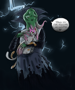 A Quest for the Mindflayer by carcajouse