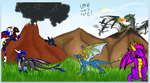 dragons on iscribble again by Minerea