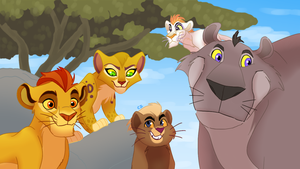 the lion guard...with lions! by hateful-minds