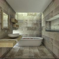 Natural Stone Bathroom by Overstone
