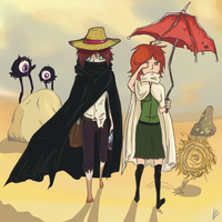 Dont Starve:Journey in desert by ArCherry