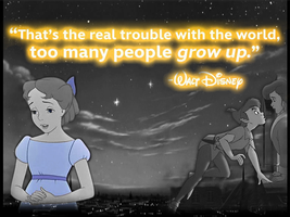 A quote from Walt Disney by JessiPan