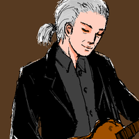 Jimmy Page Beijing 2008 by clerichan