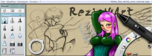 Make the World your canvas by reziel