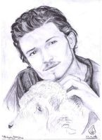 Orlando Bloom by Blue-Bell-Oggie
